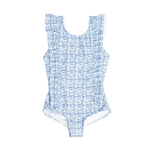 Girl's Morning Glory Ruffle One Piece
