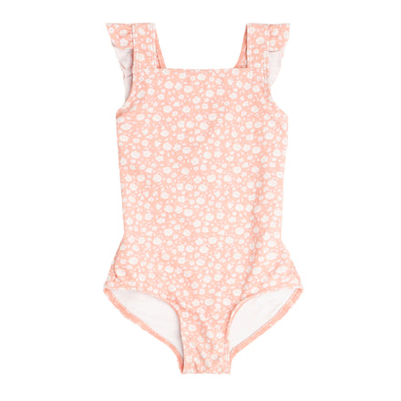 girl's melone floral crossover one piece