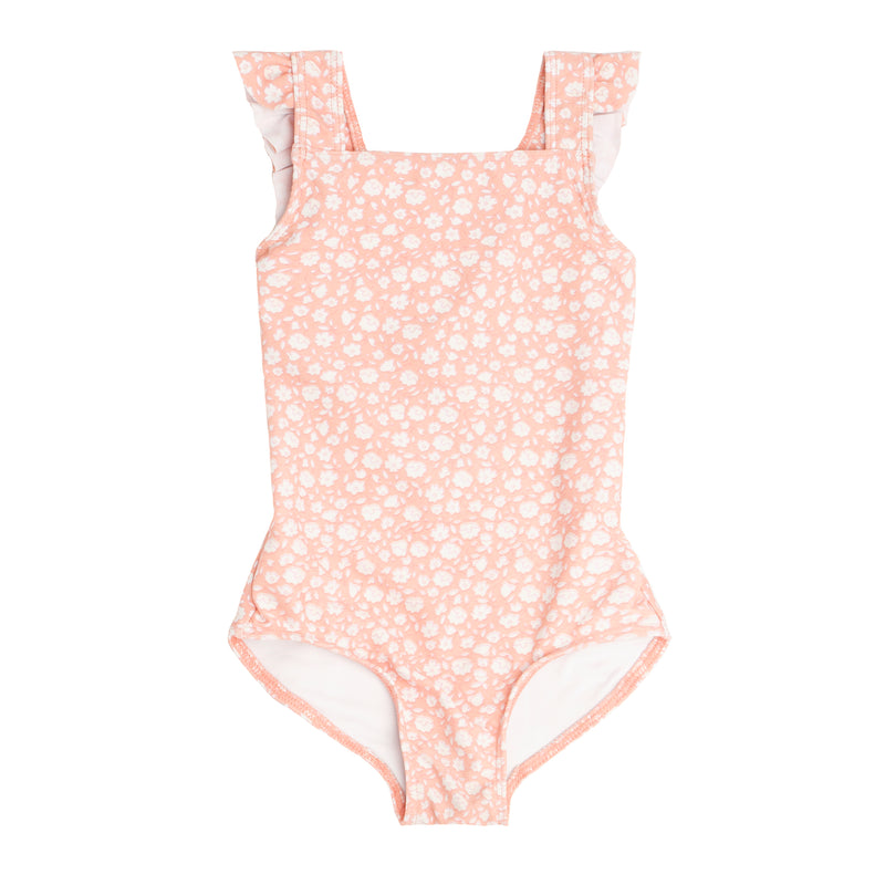 girls melone floral crossover one piece