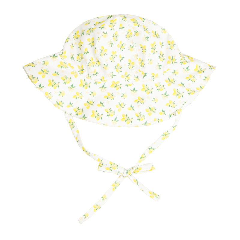 lemon drop sun hat
