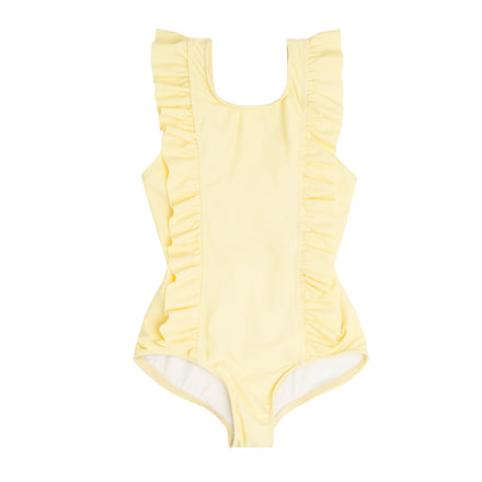 girls sunshine ruffle one piece
