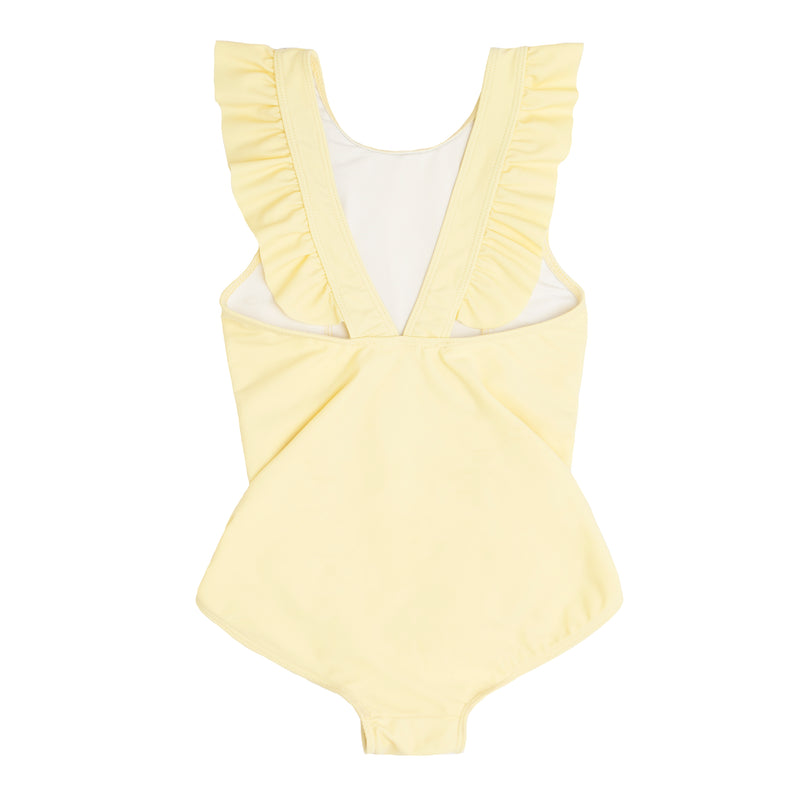girl's sunshine ruffle one piece