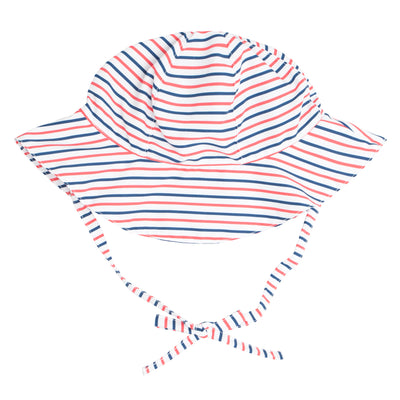 mariner stripe sun hat