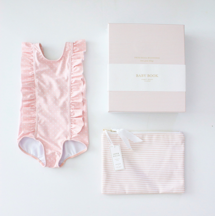 girls baby shower bundle, pink