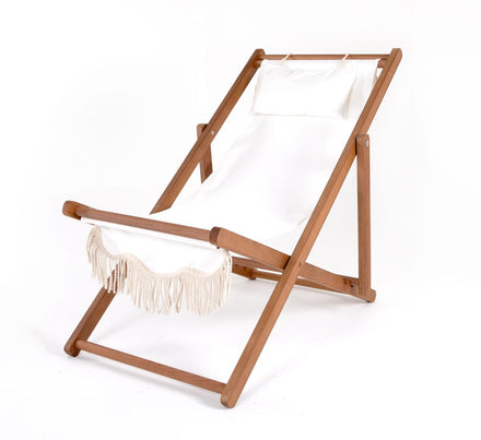 sling chair, antique white