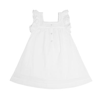 girls swiss dot swing dress
