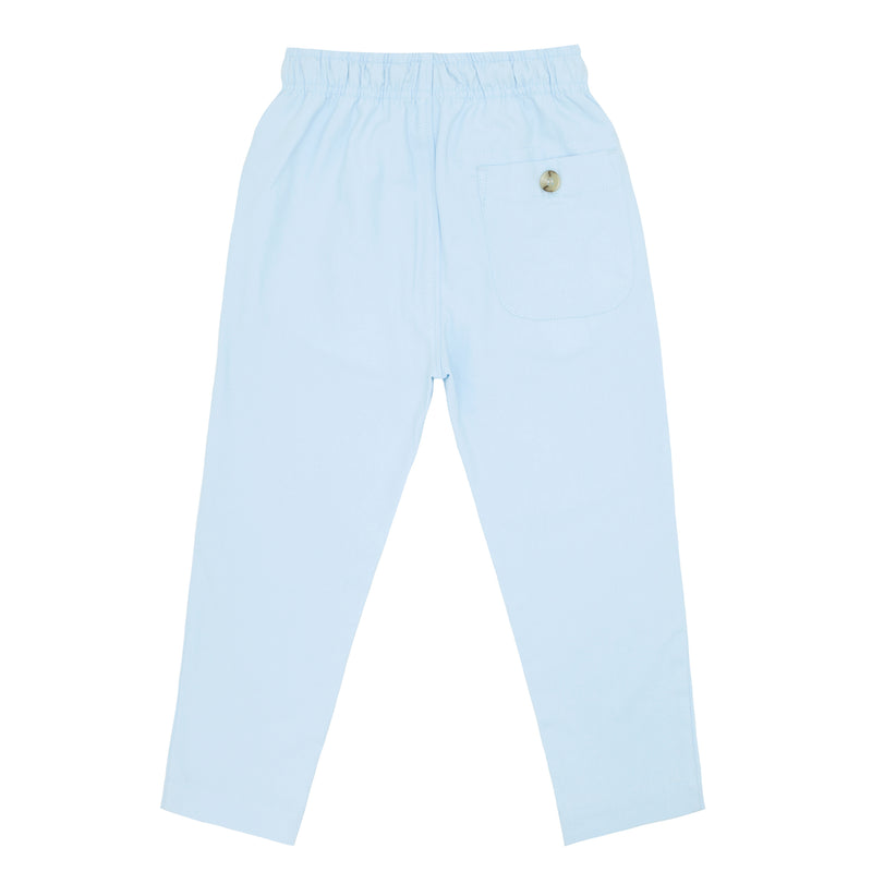 boys light blue canvas pants