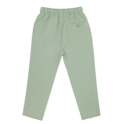 boys sage canvas pants
