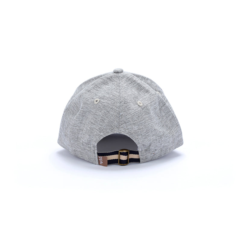 baseball hat, ash grey