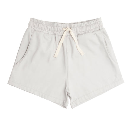 boys light grey canvas short