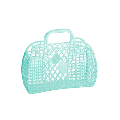 retro basket, mint