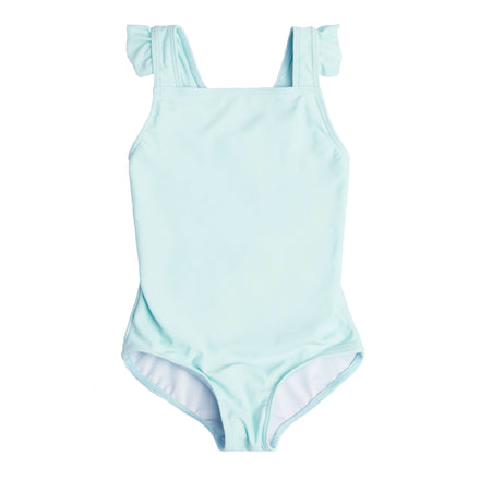 Girl's Soft Mint Crossover One Piece
