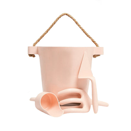 beach toy set, pale pink