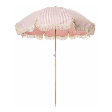lauren's pink stripe premium umbrella