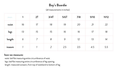 boys navy boardie with side binding