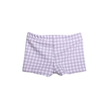 Boy's Gingham Brief