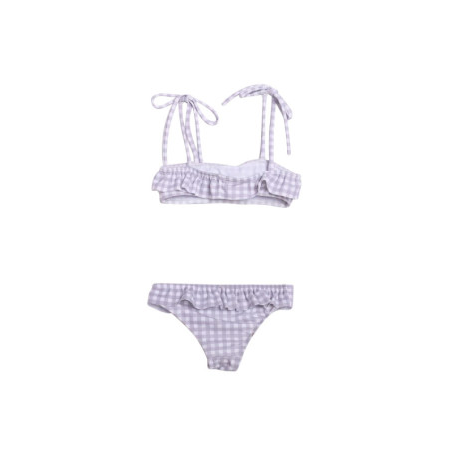 Girl's Gingham Bandeau Set