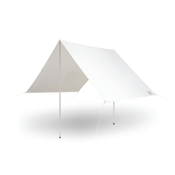 holiday beach tent, white