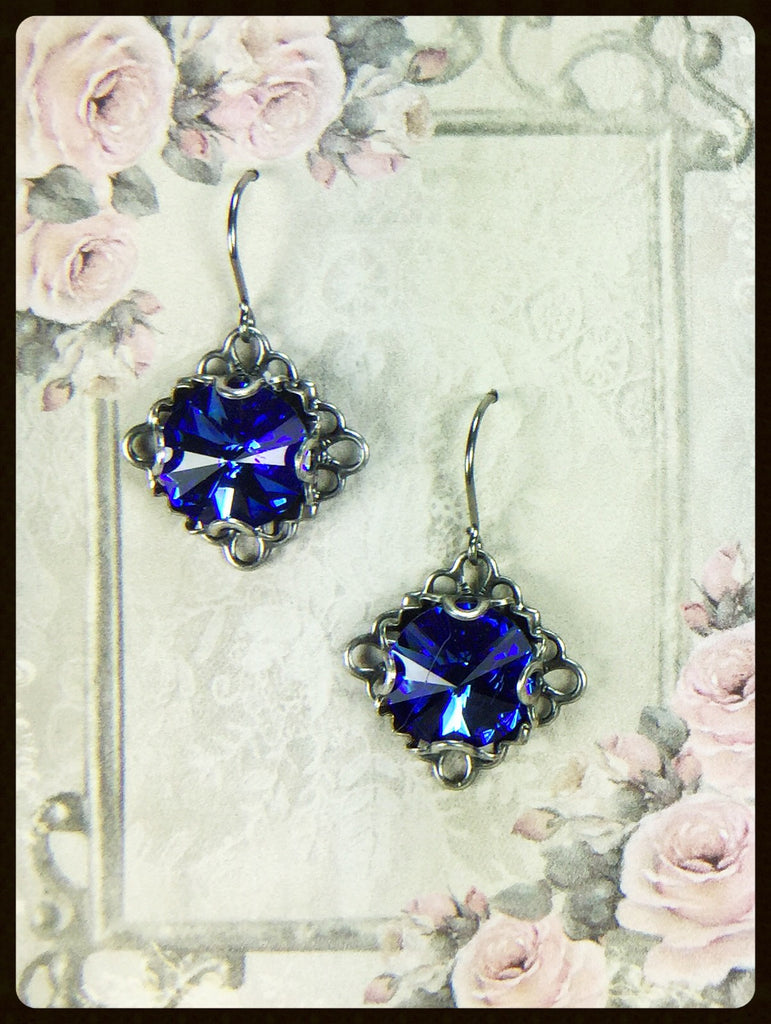 Rivoli Crystal Earrings