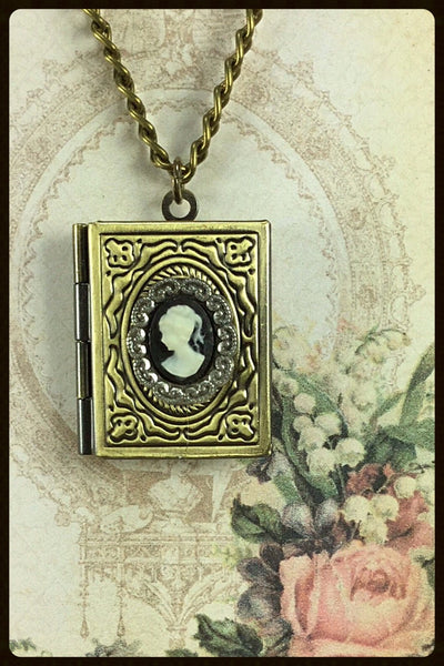 Locket~Brass Book