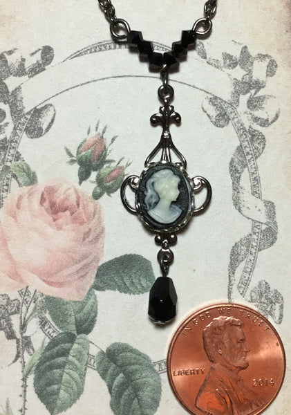 Cameo Filigree Necklace