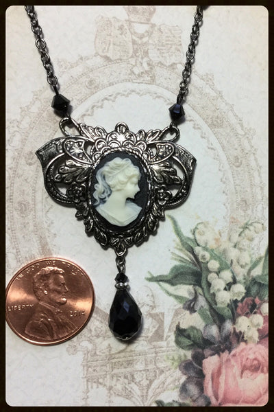 Victorian Style Cameo Necklace