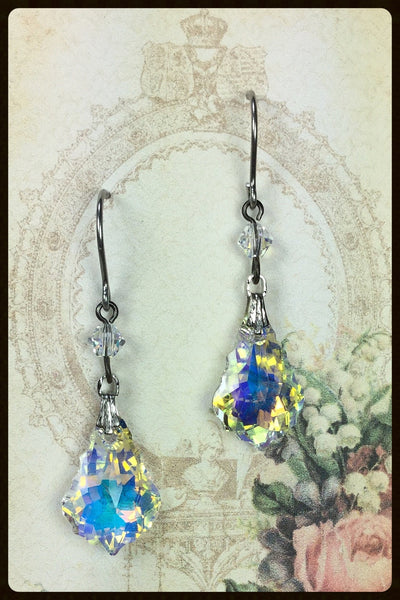 Baroque Crystal Earrings