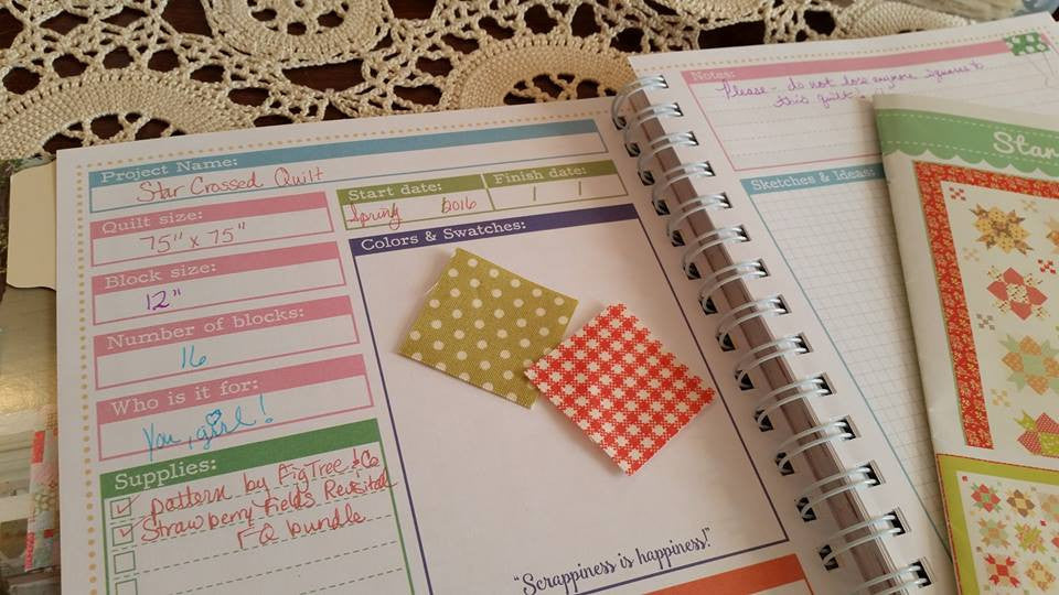 Scrappy Project Planner by Lori Holt for It's Sew Emma
