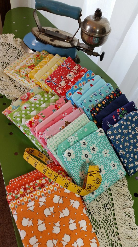 The new Great Granny Squared Fat Quarter Bundle!