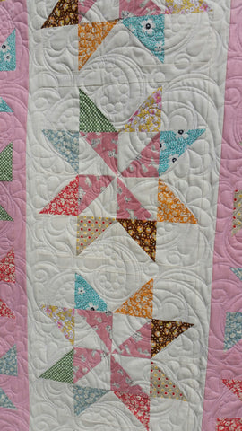 Check out this Lovely Twirlity Quilt Kit by Taunja Kelvinton from Carried Away Quilting!!