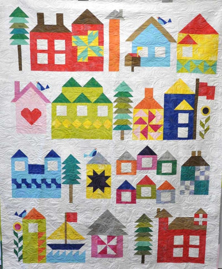 Moda s Be My Neighbor Quilt-Along! Click the link at the top of the pa My Timeless Day ...