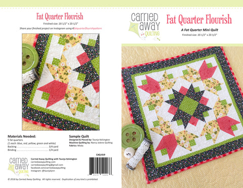 New Patterns by Carried Away Quilting!