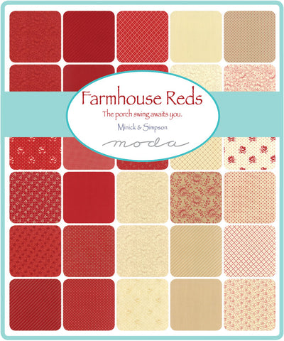 Farmhouse Reds by Minick and Simpson for Moda