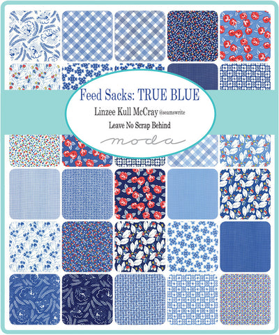 Feed Sacks True Blue