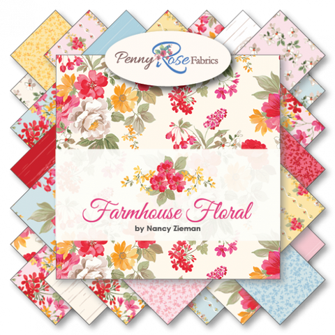 Farmhouse Floral by Nancy Zieman