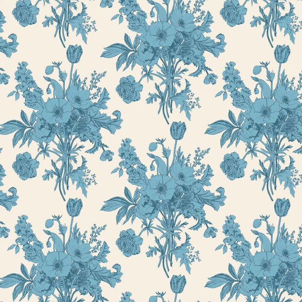 """Cottage""-Botanical Blue by Tone Finnanger for Tilda"