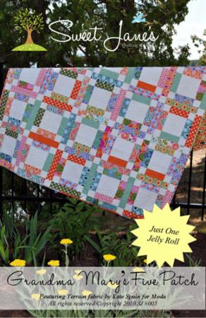 Grandma Mary's Five Patch Quilt Pattern