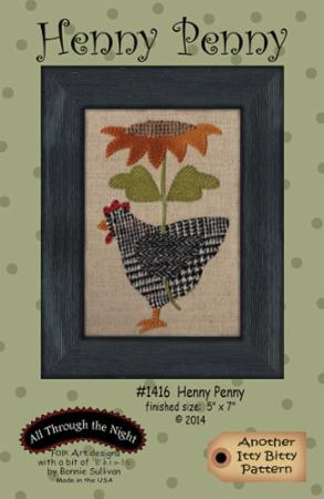 Henny Penny Another Itty Bitty Pattern by Bonnie Sullivan