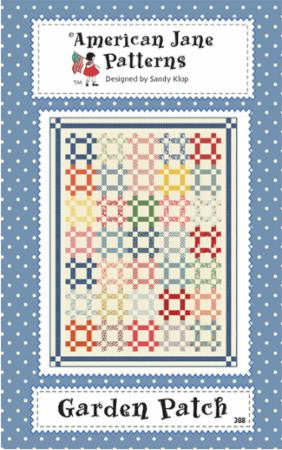 Garden Patch Quilt Pattern by Sandy Klop of American Jane Patterns