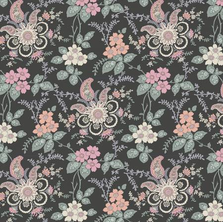 """The Hesketh House Collection""-  Fireside Pink/Green by Liberty Fabrics"