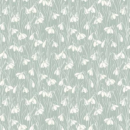 """The Hesketh House Collection""-  Hesketh - Pale Green by Liberty Fabrics"