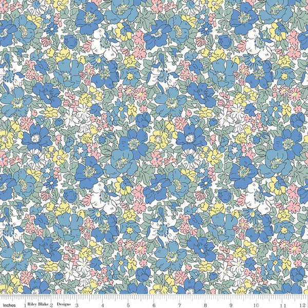 """Flower Show Spring""- Cosmos Bloom by Liberty Fabrics"