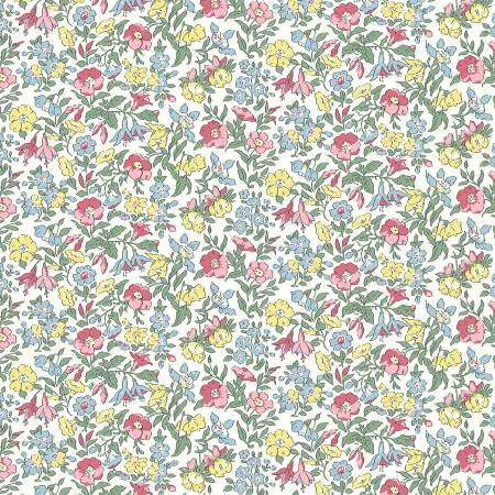 """Flower Show Spring""- Mamie by Liberty Fabrics"