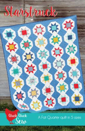Starstruck Quilt Pattern by Cluck Cluck Sew