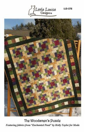 The Woodsmen's Puzzle Quilt Pattern