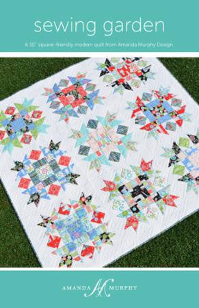 Sewing Garden Quilt Pattern by Amanda Murphy Design