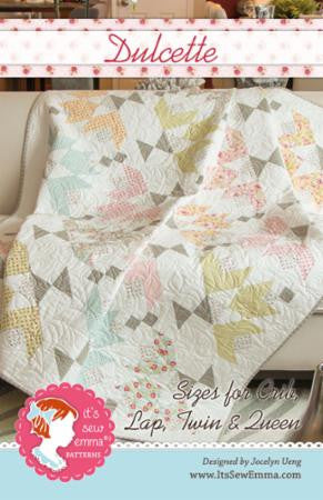 Dulcette Quilt Pattern by It's Sew Emma Patterns