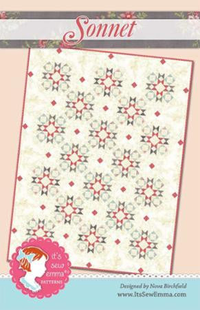Sonnet Quilt Pattern by It's Sew Emma Patterns