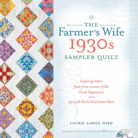 The Farmer's Wife 1930's Sampler Book & Template Set by Laurie Aaron Hird