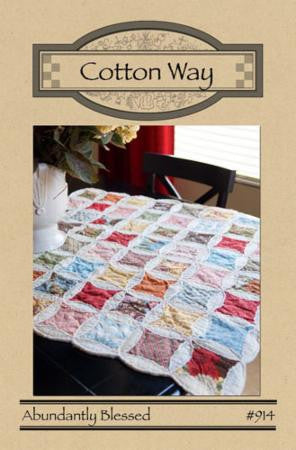Abundantly Blessed Pattern by Bonnie Olaveson of Cotton Way